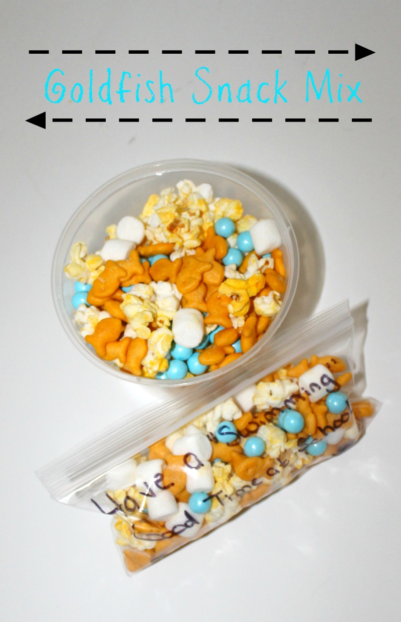 Goldfish Snack Mix - 12 Days of Back to School Lunches | Finding ...