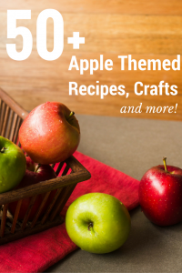 50+ Apple Themed Recipes,Crafts and More #SoFabSeasons