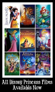 Bring All Disney Princess Films Home Today #DreamBigPrincess