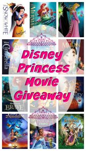Disney Princess Movie Collection Giveaway #DreamBigPrincess
