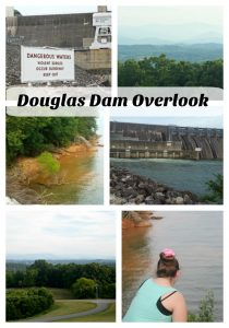 Douglas Dam Overlook in East Tennessee