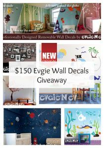 November Evgie Wall Decal Giveaway – Ends 12/10