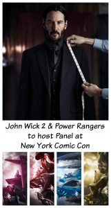 Power Rangers & John Wick Panel at New York Comic Con