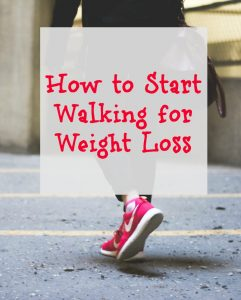 Start Walking for Weight Loss