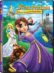 The Swan Princess: Princess Tomorrow, Pirate Today DVD & Giveaway – Ends 9/17