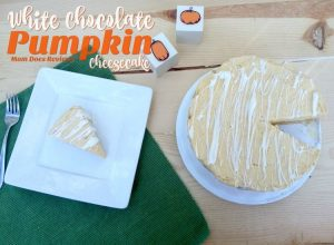 White Chocolate Pumpkin Cheesecake – 12 Days of Thanksgiving