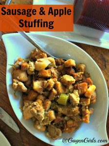 Sausage and Apple Stuffing – 12 Days of Thanksgiving