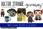 Doctor Strange Prize Pack Giveaway  -Ends 11/16