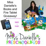 Miss Danielle's Books and Fire Tablet Giveaway – Ends 11/21
