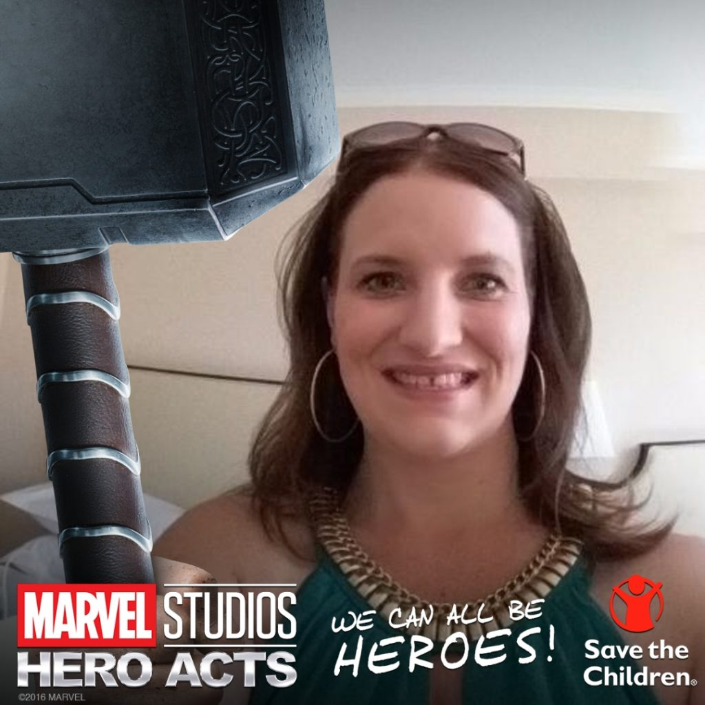 Help Save the Children with Hero Acts