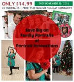 Save on Family Portraits at Portrait Innovations
