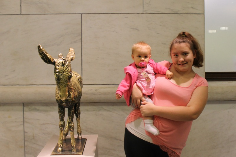 Jayme and Penelope at DIA