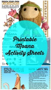 New MOANA Activity Sheets – #Moana
