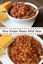 Slow Cooker Beans and Ham