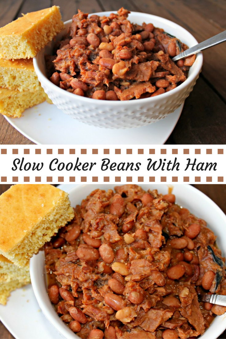 Slow Cooker Beans and Ham - Finding Sanity in Our Crazy Life
