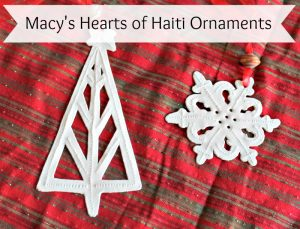 Macy's Heart of Haiti Ornaments Provide Sustainable Hope