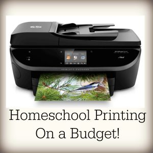 Homeschool Printing