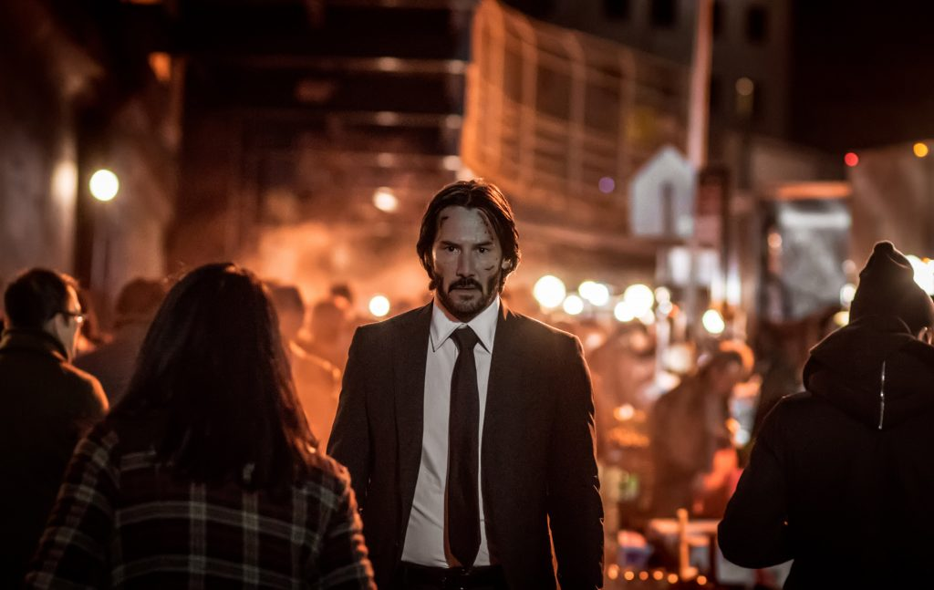 Keanu Reeves stars as 'John Wick' in JOHN WICK: CHAPTER 2.