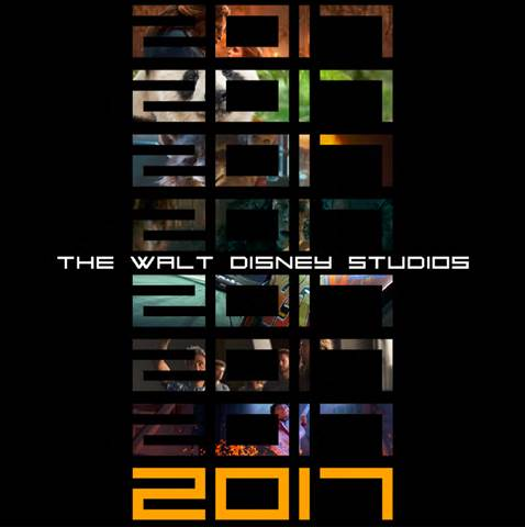 2017 Release Schedule For Walt Disney Studios Motion Picture