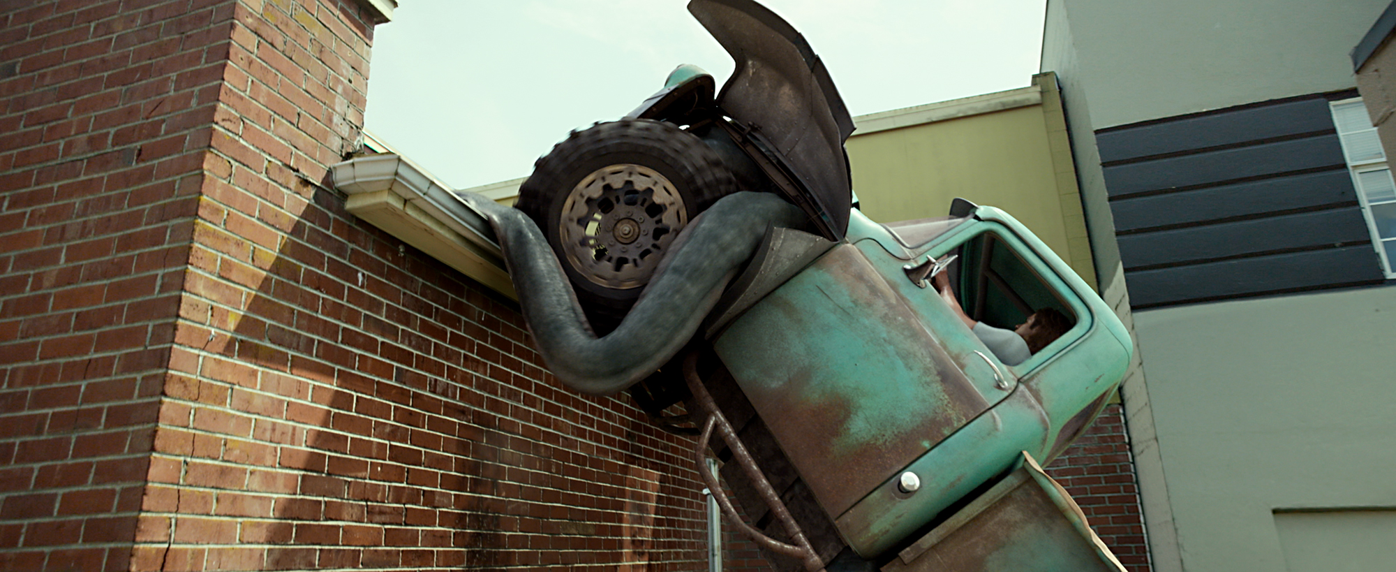 Lucas Till plays Tripp in Monster Trucks from Paramount Pictures.