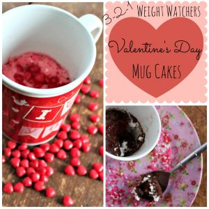 weight watchers mug cake