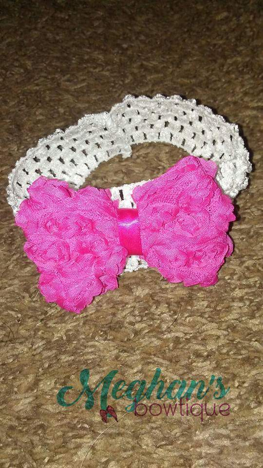 Hair Bow and Headband from Meghan's Bowtique