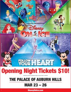 "Disney on Ice Presents ""Follow Your Heart"" at The Palace – #DisneyonIce"