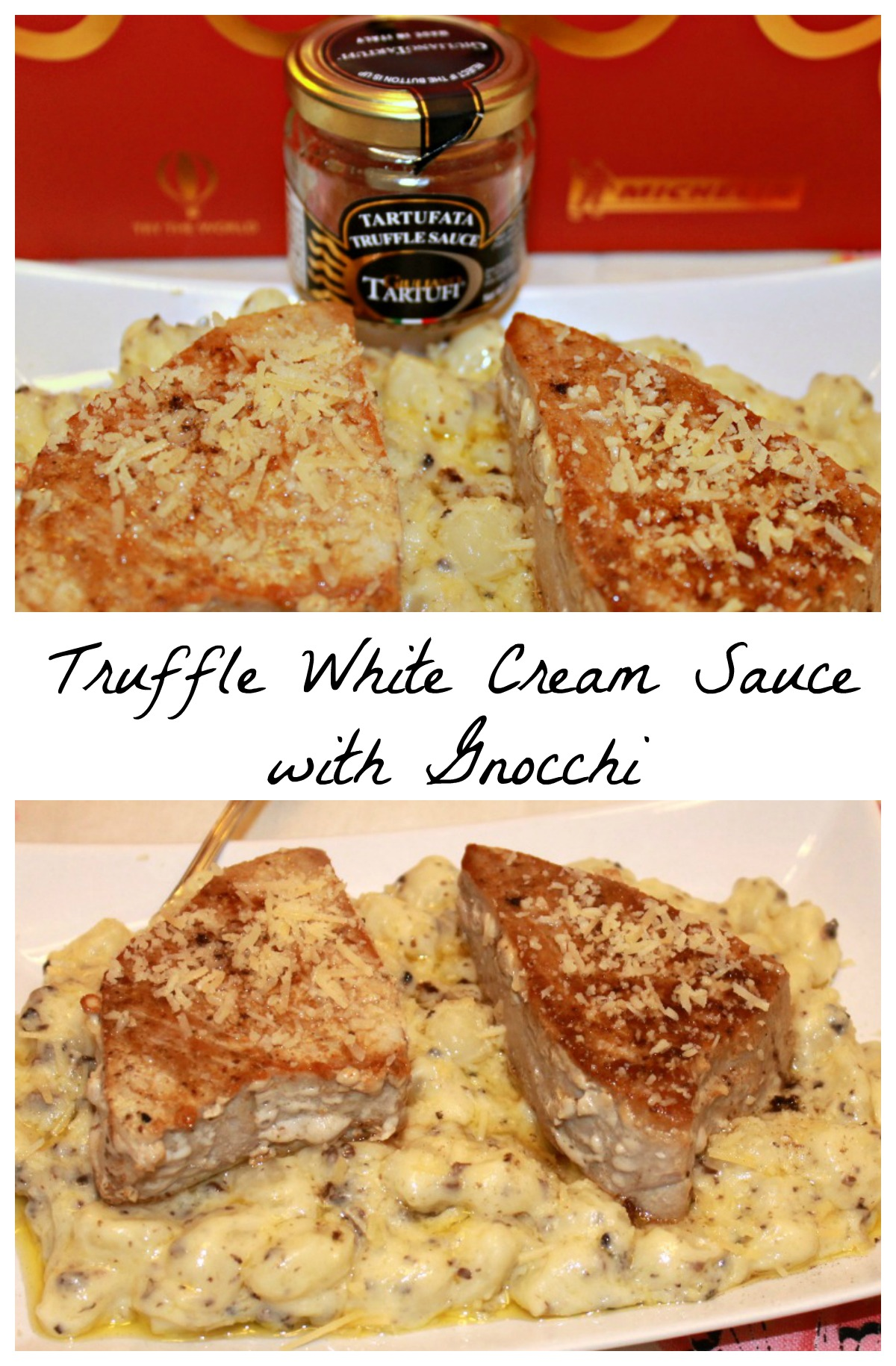 Truffle White Cream Sauce with Gnocchi Recipe