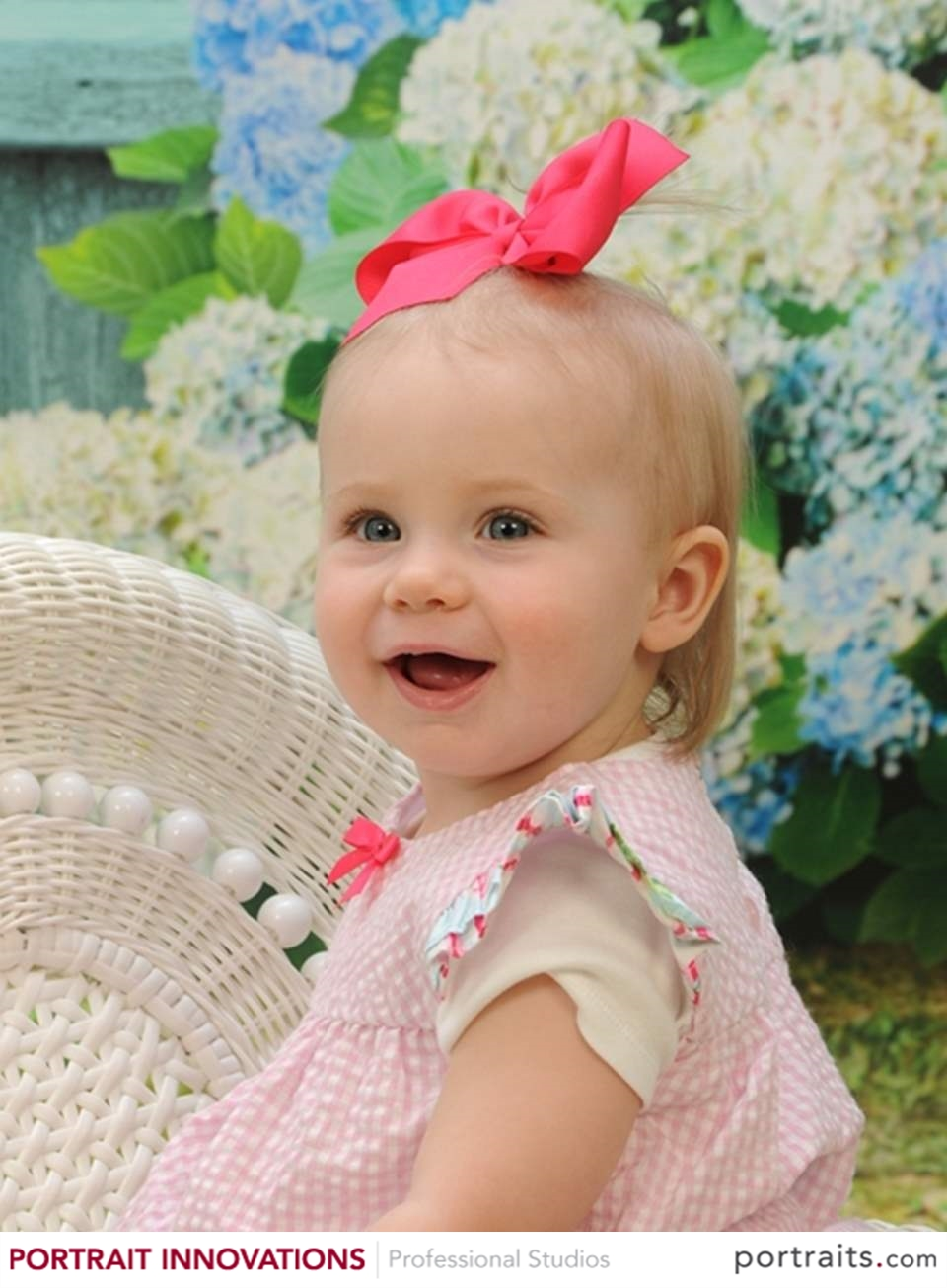 Smiling Baby Girl Photo
