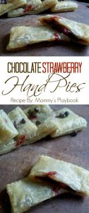 Chocolate Strawberry Hand Pies – #12DaysofPicnic