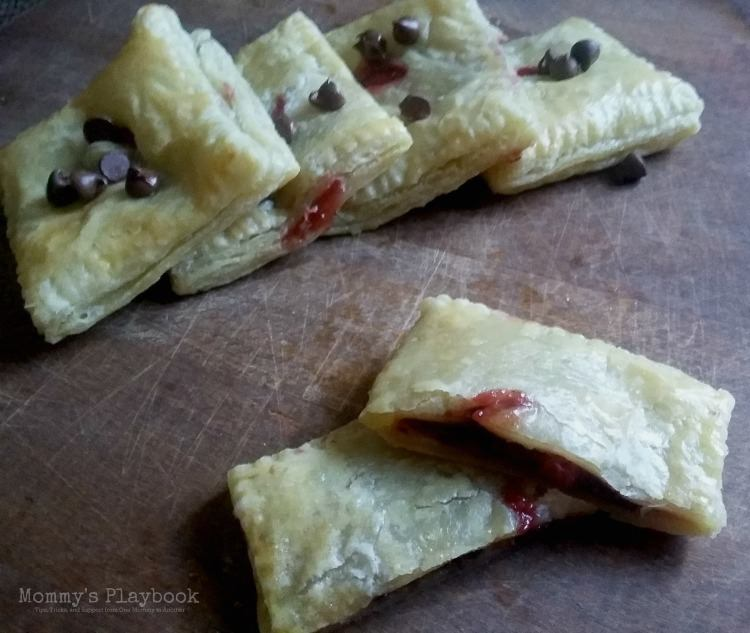 Chocolate Strawberry Hand Pies 2