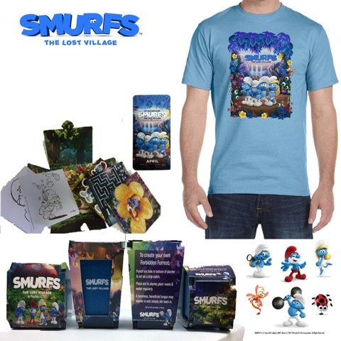 SMURFS Giveaway