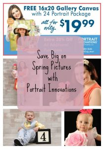 Save Big on Spring Pictures at Portrait Innovations
