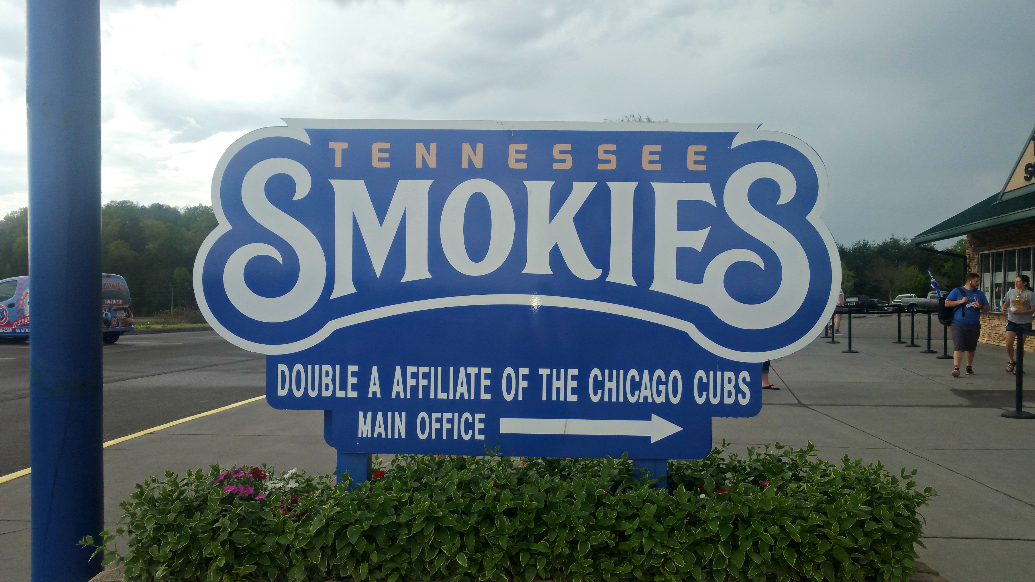 TN Smokies Sign