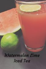 Watermelon Lime Iced Tea – #12DaysofPicnic