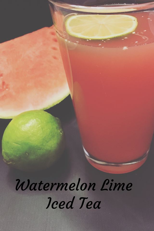 Watermelon Lime Iced Tea 1
