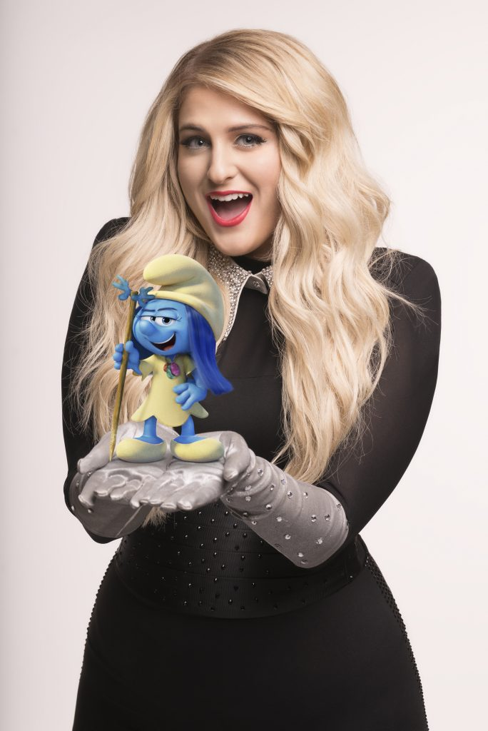 "Meghan Trainor voices ""Melody Smurf""  in Sony Pictures Animation's SMURFS: THE LOST VILLAGE."