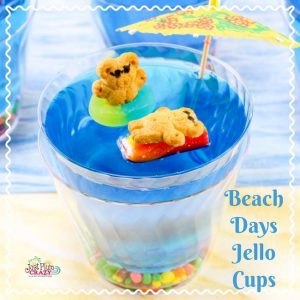 Beach Days Jello Cups – #12DaysofSweet