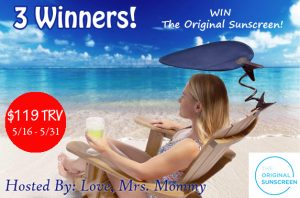 The Original Sunscreen Giveaway – Ends 5/31