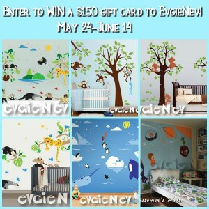 May 2017 Evgie Wall Decals Giveaway