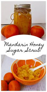 Mandarin Honey Sugar Scrub – #HalosFun