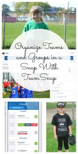 Organize Teams and Groups in a Snap – #TeamSnap