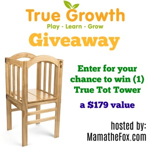 True Tot Tower Giveaway