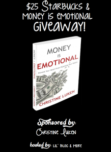 Money is Emotional Giveaway & $25 Starbucks Gift Card