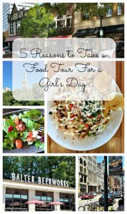 5 Reasons to Take a Food Tour For a Girl's Day