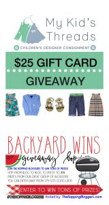 Backyard Wins Giveaway Hop – #THBHop