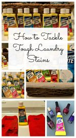 How to Tackle Tough Laundry Stains – #Unstainers #LifeUnstained