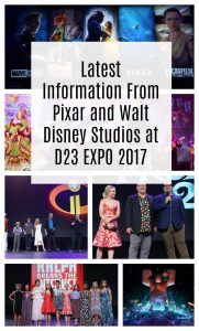 Latest Information From Pixar and Walt Disney Studios at D23 EXPO 2017
