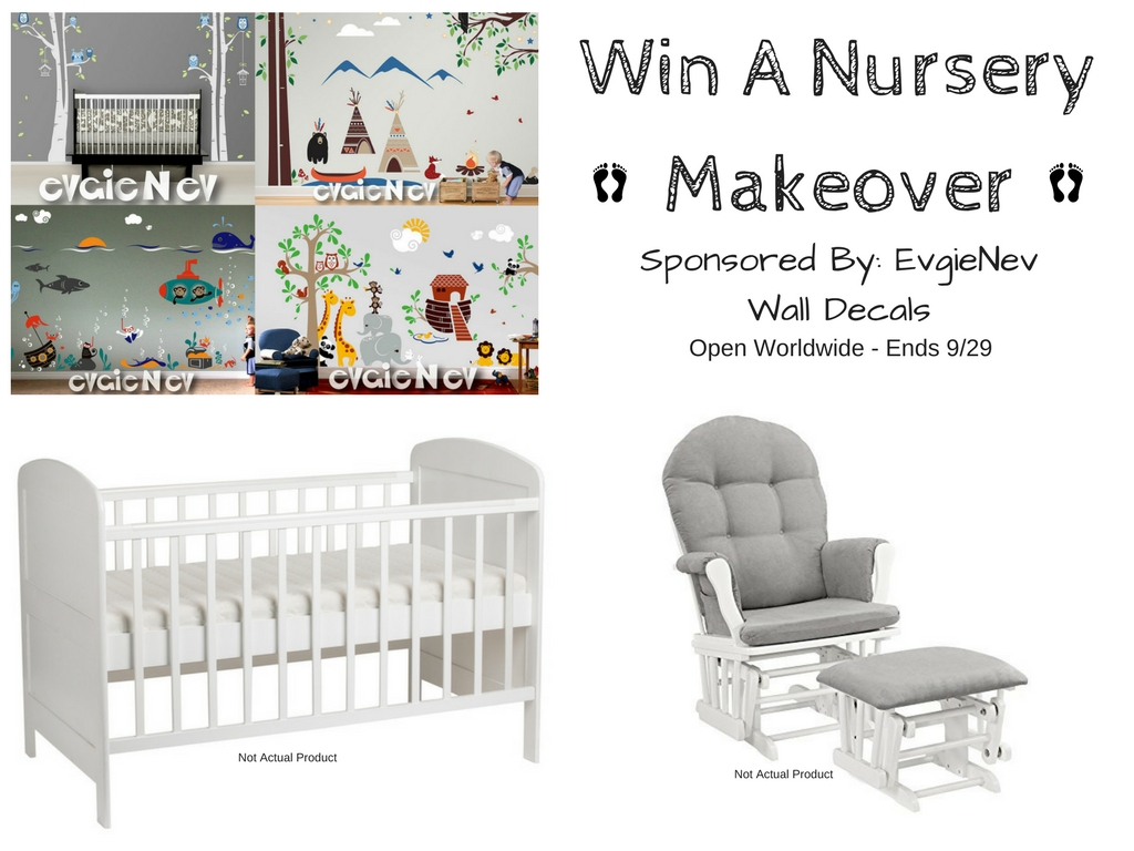 Evgie Wall Decal Nursery Giveaway   Finding Sanity in Our Crazy Life