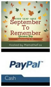 Unbe-Leaf-Able September to Remember Giveaway Hop – Ends 9/30